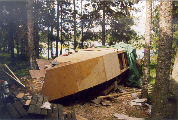 bygga egen båt